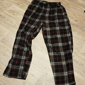 Perry Ellis Sleepwear Plaid PJ Bottoms Pants